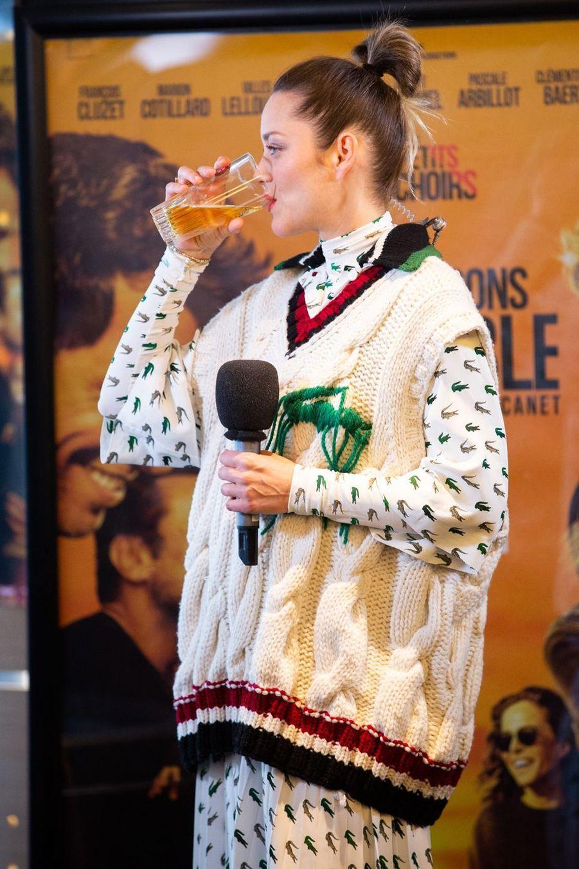 Marion Cotillard à Bruxelles le 23 avril 2019