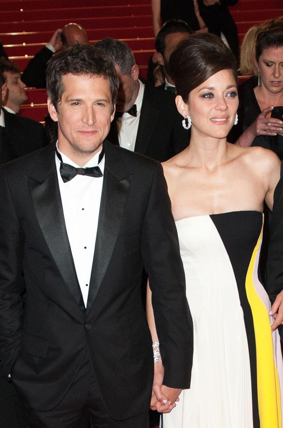Marion Cotillard et Guillaume Canet au festival de Cannes 2014.
