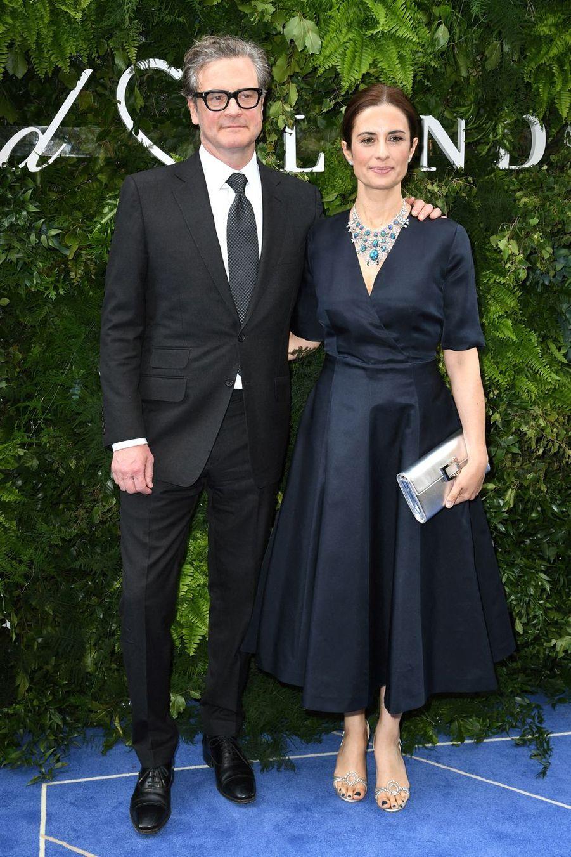 Colin Firth etLivia Giuggiolià Londres, le 17 juin 2019
