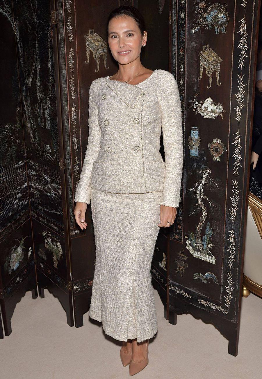 Virginie Ledoyenlors du défilé Chanel Métiers d'Art àParis le 4décembre2019.
