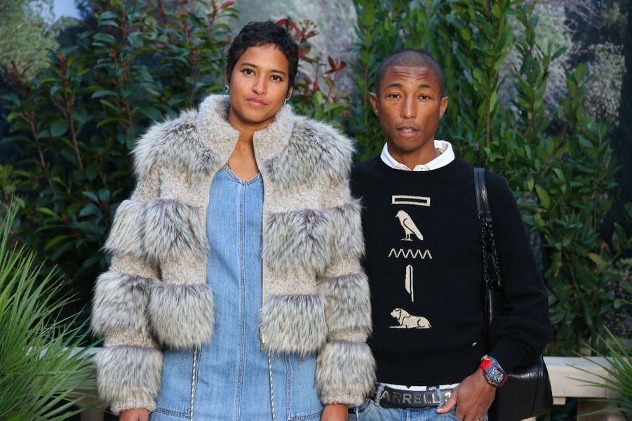 Pharrell Williams et sa femme