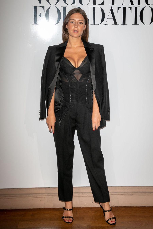 Adèle Exarchopoulos à Paris le 2 juillet 2019