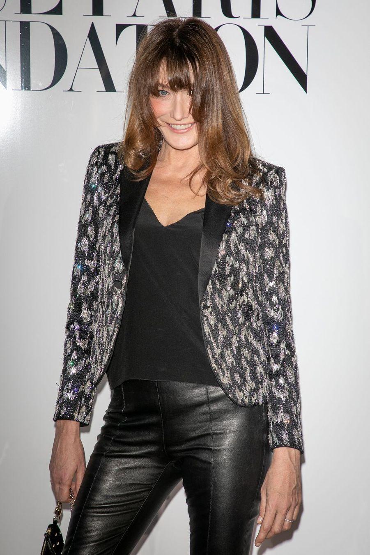 Carla Bruni à Paris le 2 juillet 2019.