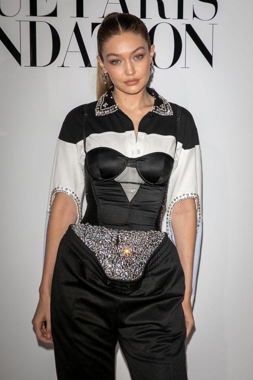 Gigi Hadidà Paris le 2 juillet 2019.