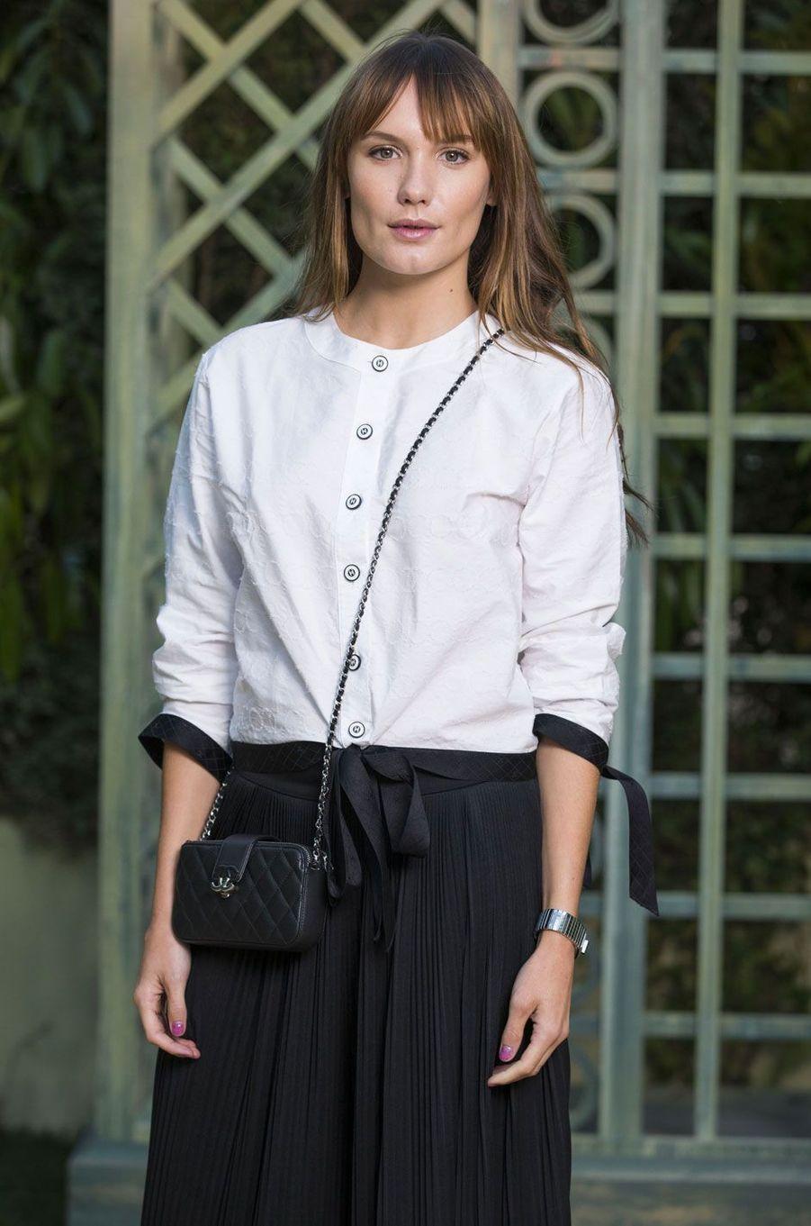 Ana Girardo au défilé Chanel Haute Couture printemps-été 2018