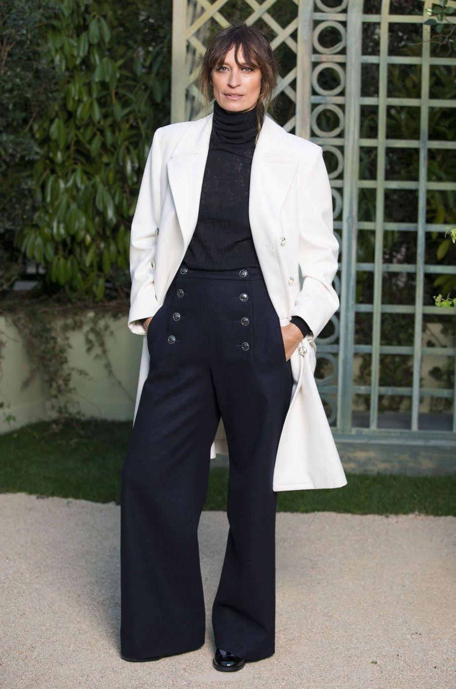 Caroline de Maigret au défilé Chanel Haute Couture printemps-été 2018