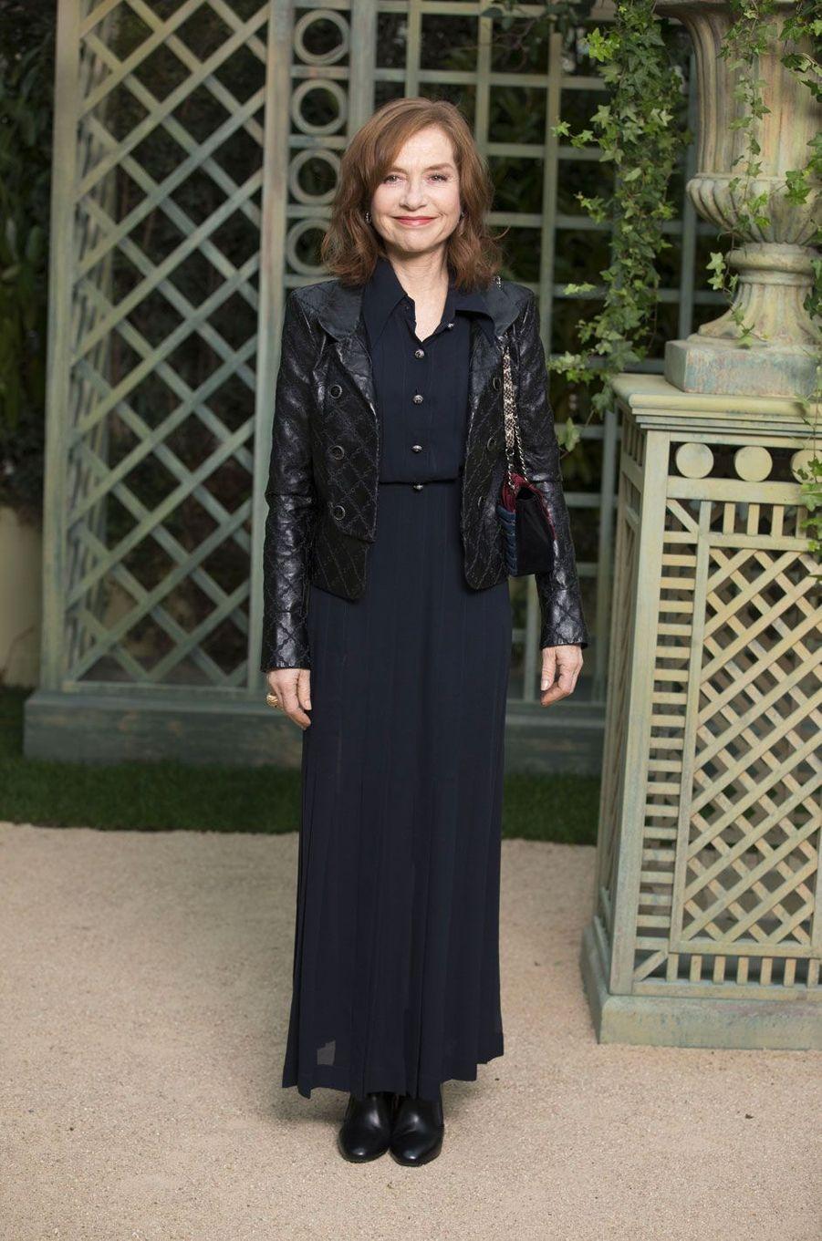 Isabelle Hupper au défilé Chanel Haute Couture printemps-été 2018