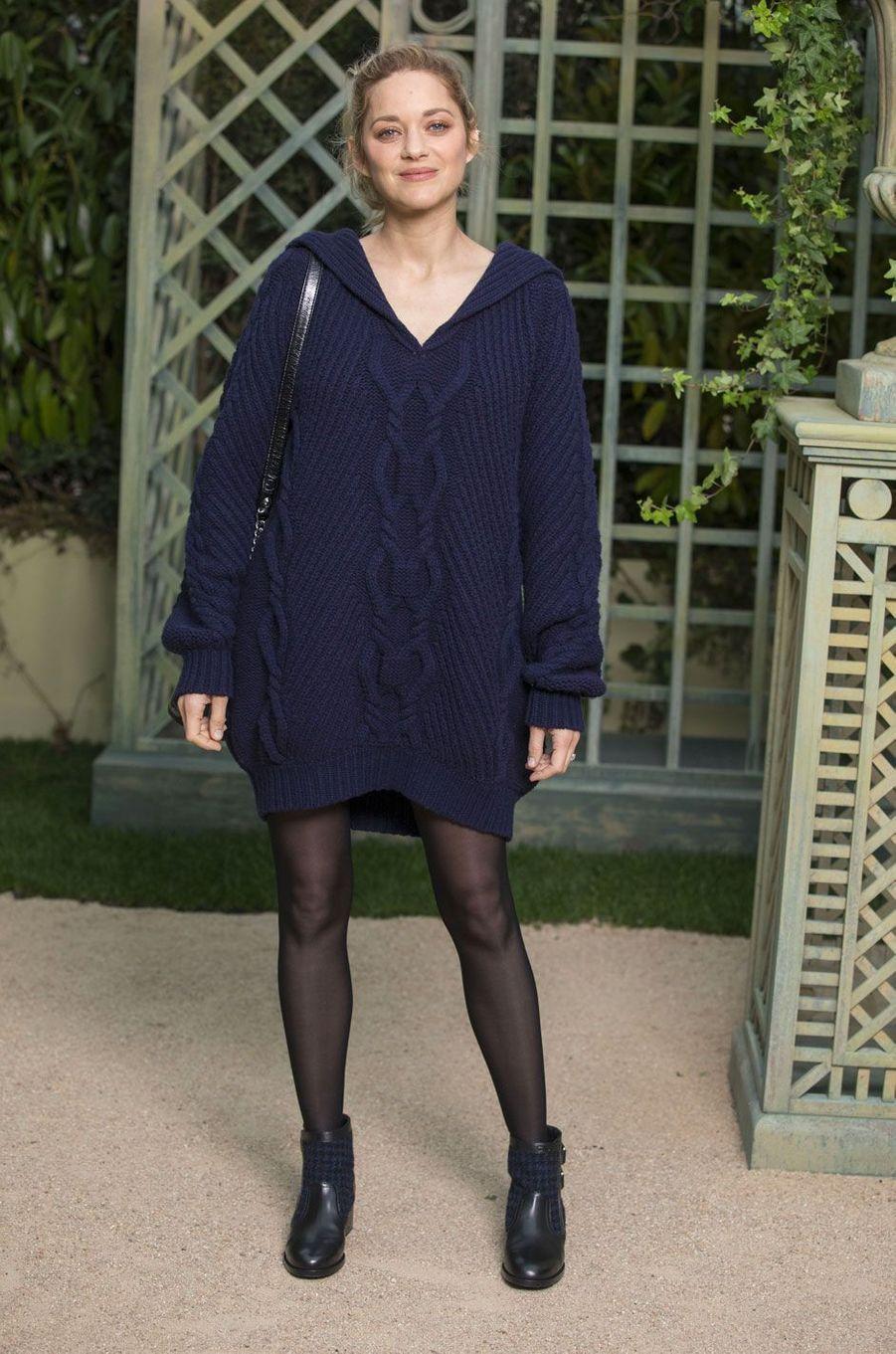 Marion Cotillard au défilé Chanel Haute Couture printemps-été 2018