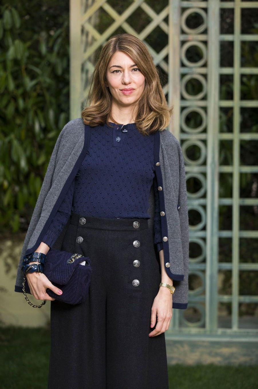 Sofia Coppola au défilé Chanel Haute Couture printemps-été 2018
