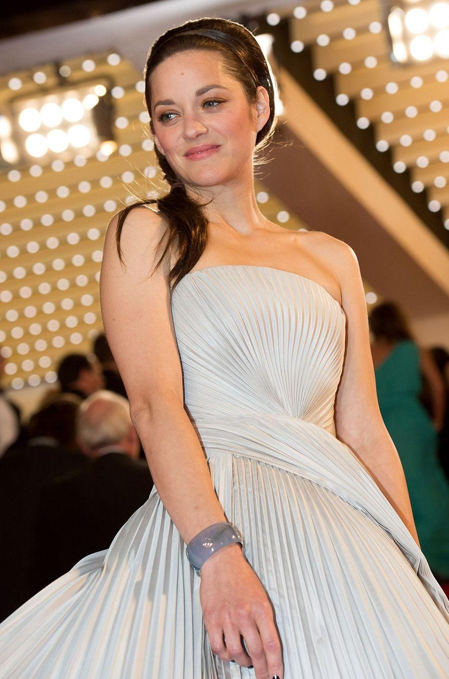 Marion Cotillard au festival de Cannes 2014.