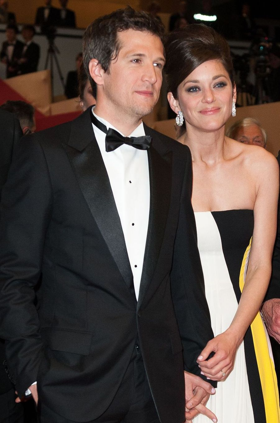 Marion Cotillard avec Guillaume Canet à Cannes, en 2013.