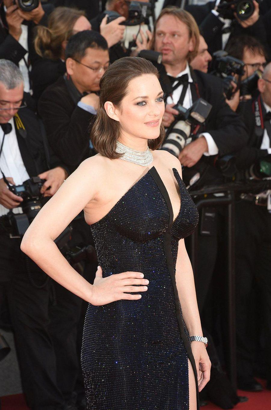 Marion Cotillard à Cannes en 2017.