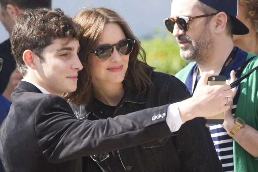 Marion Cotillard, une star parmi les stars à Cannes.