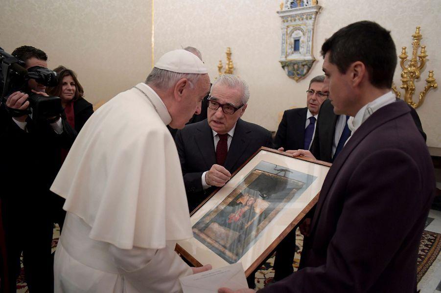 Le réalisateur Martin Scorsese a été reçu par le pape François, mercredi 30 novembre.