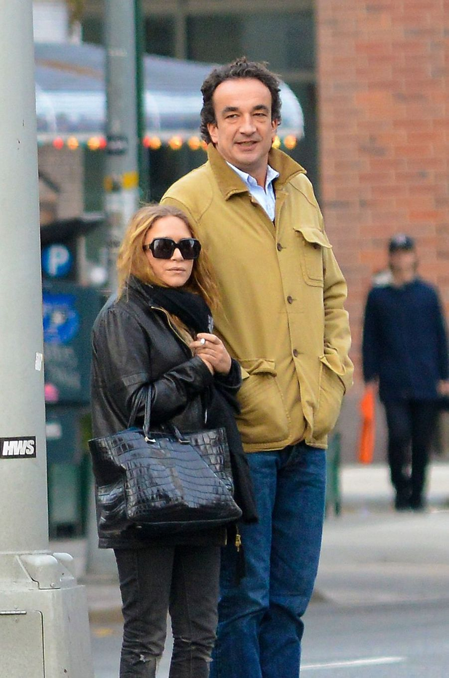Mary-Kate Olsen et Olivier Sarkozy à New York en novembre 2012