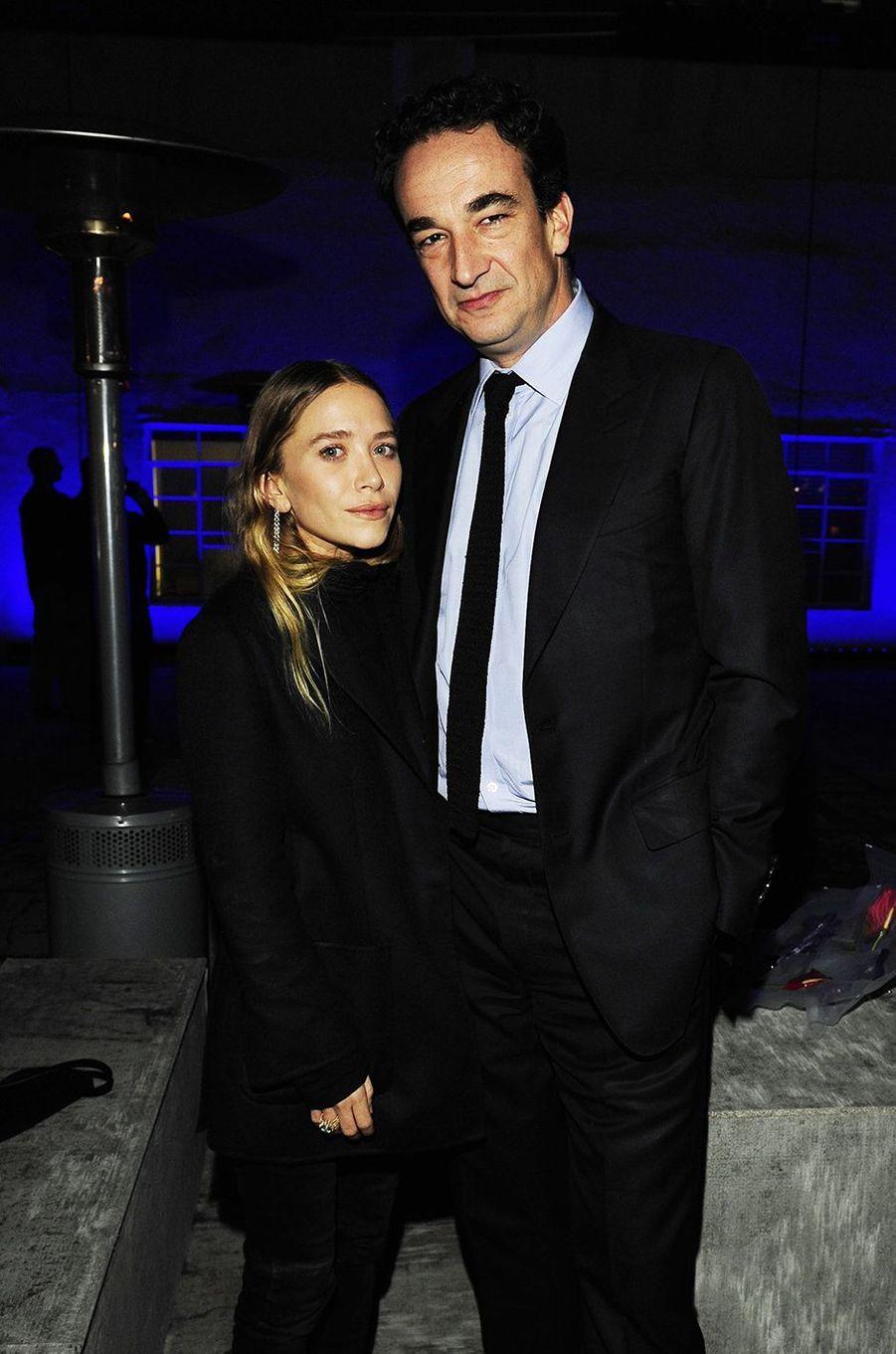Mary-Kate Olsen et Olivier Sarkozy lors d'un événement à Hollywood en décembre 2014