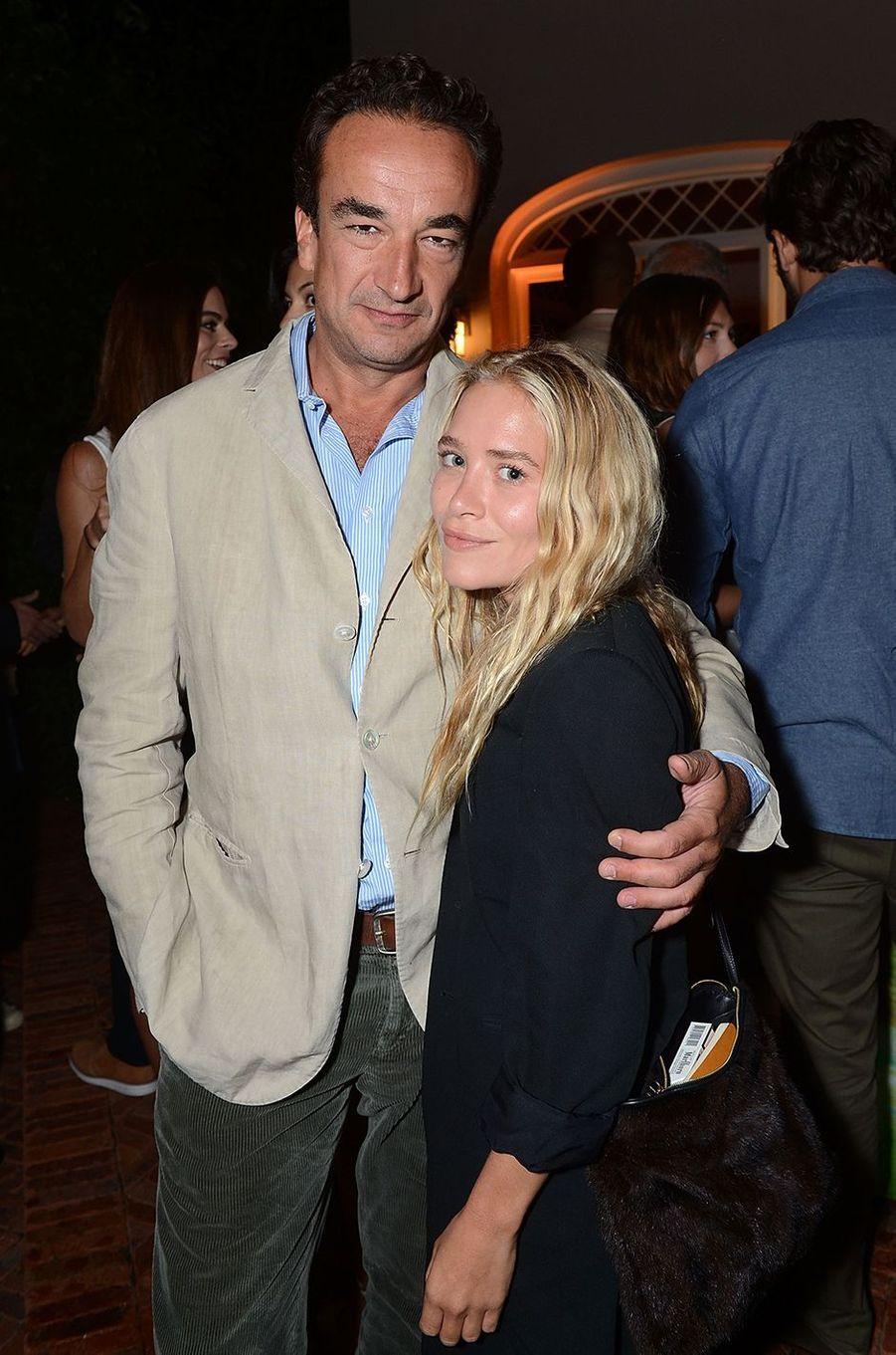 Mary-Kate Olsen et Olivier Sarkozy lors d'une soirée caritative dans à East Hampton en août 2013