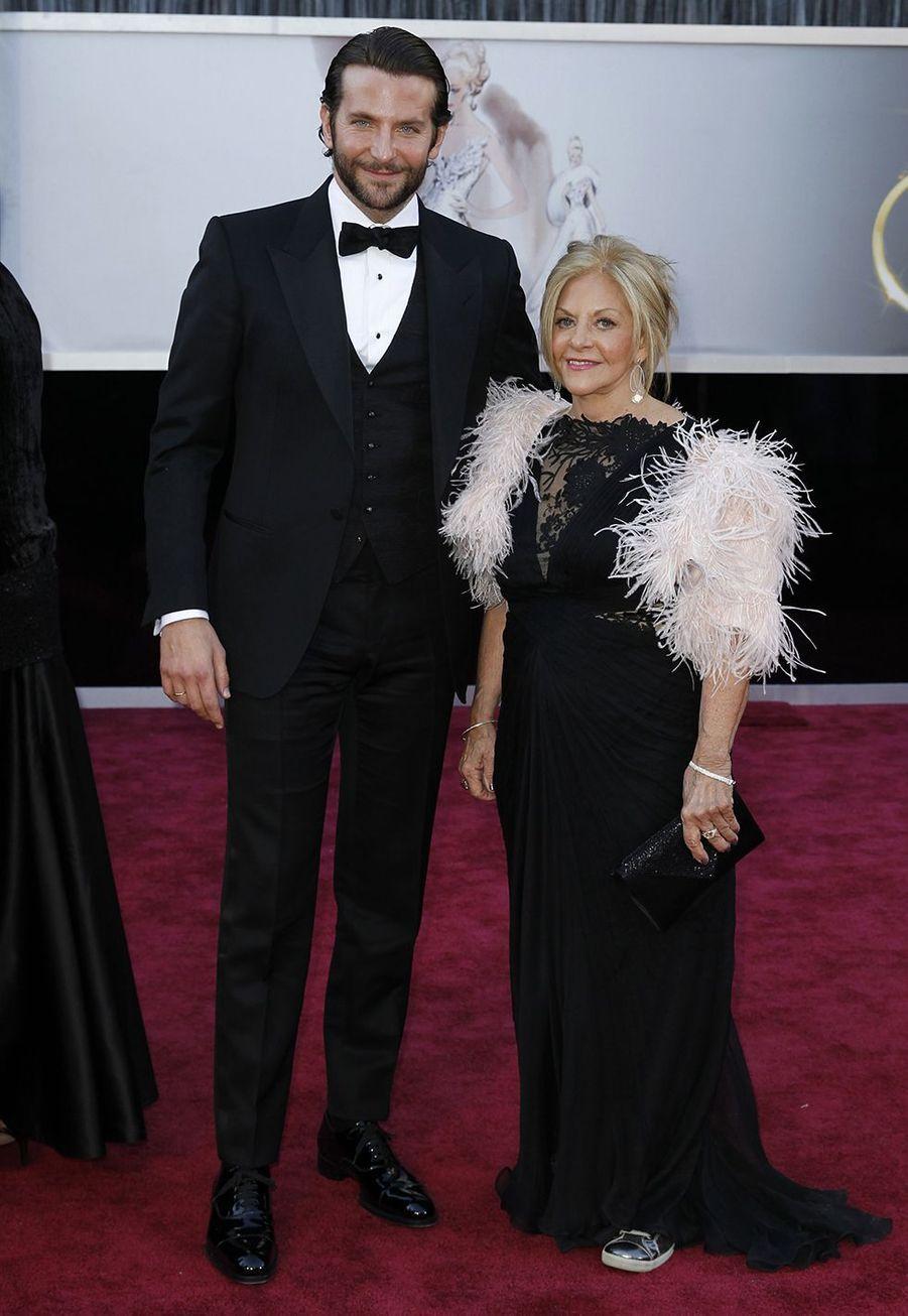 Bradley Cooper et sa mère Gloria