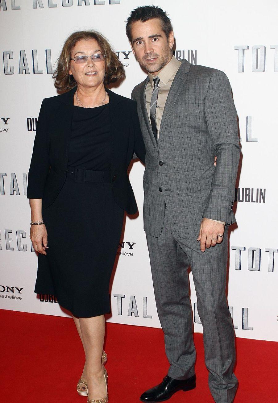 Colin Farrell et sa mère Rita