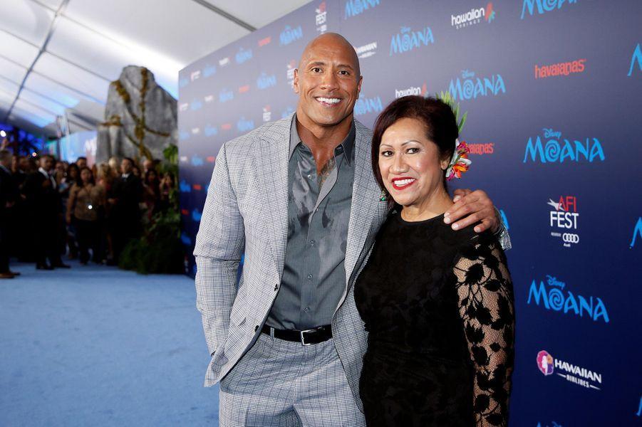 Dwayne Johnson et sa mère Ata