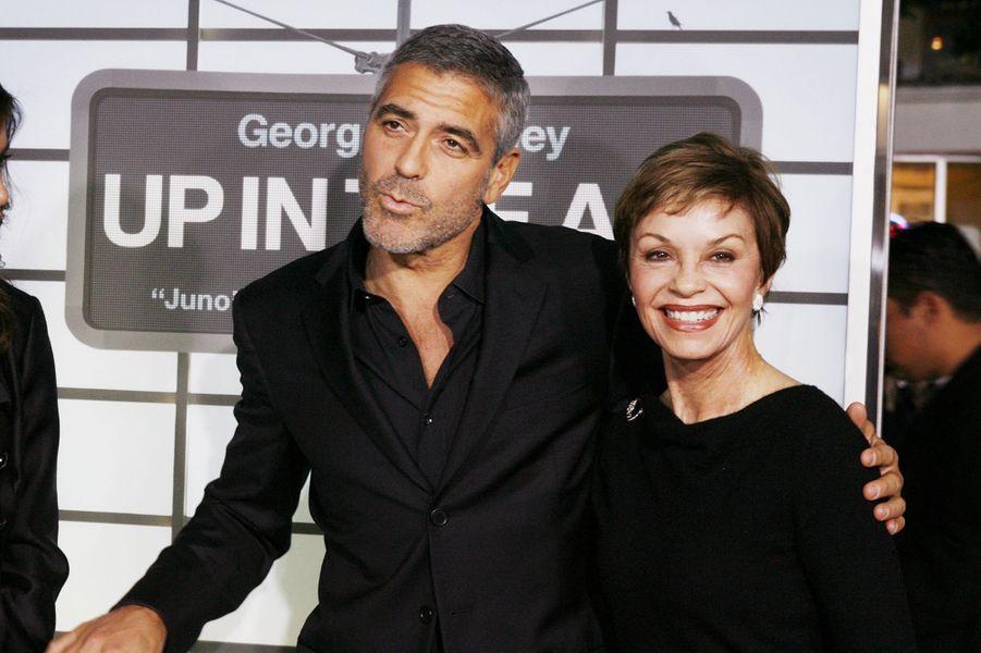 George Clooney et sa mère Nina