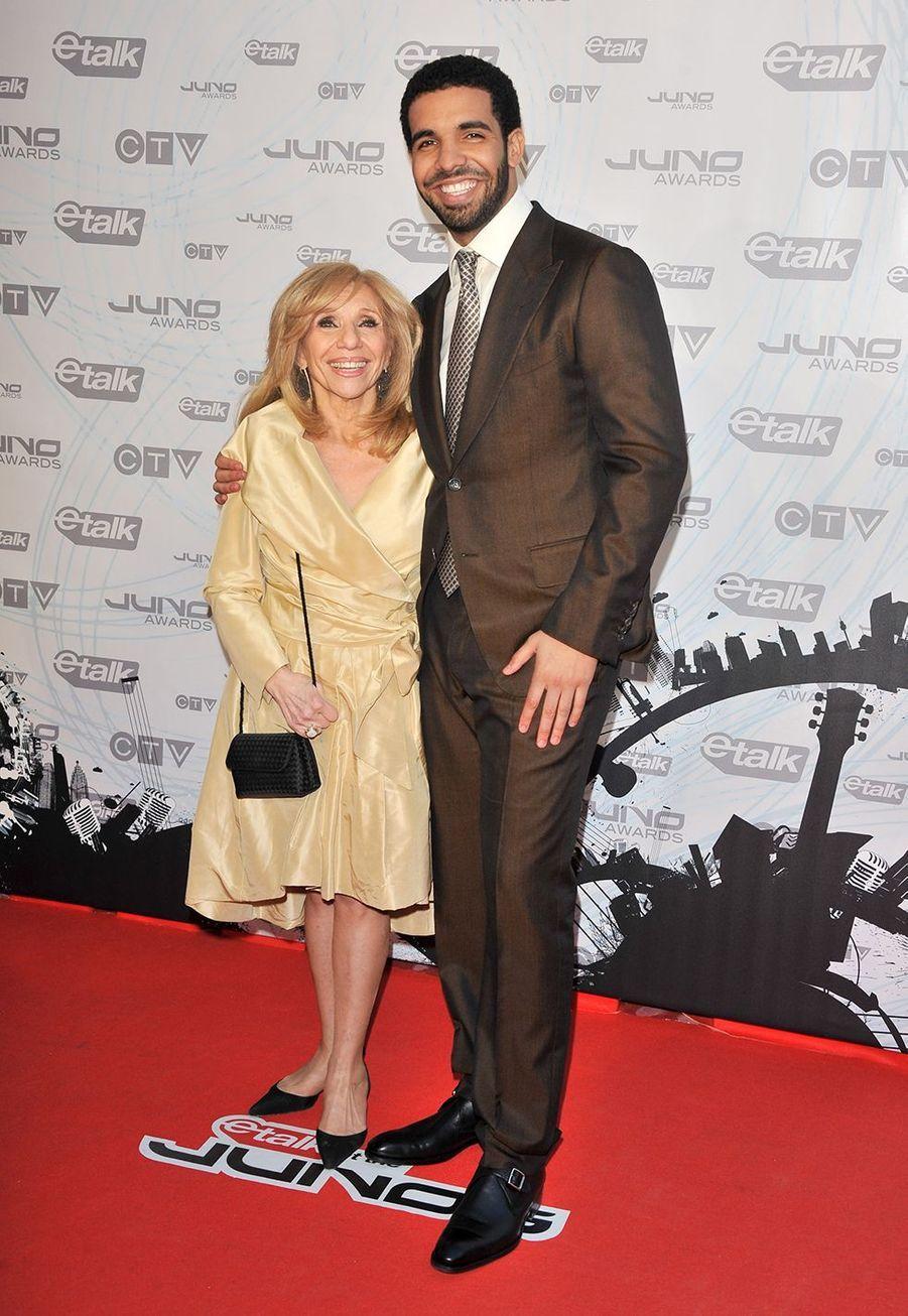Drake et sa mère Sandi