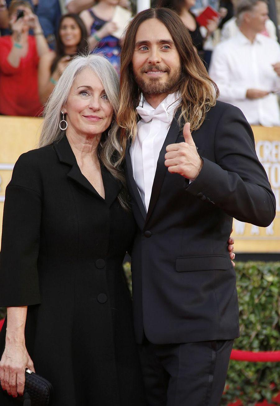 Jared Leto et sa mère Constance