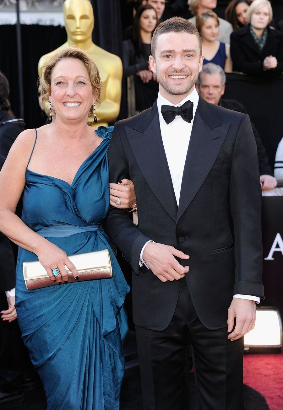 Justin Timberlake et sa mère Lynn