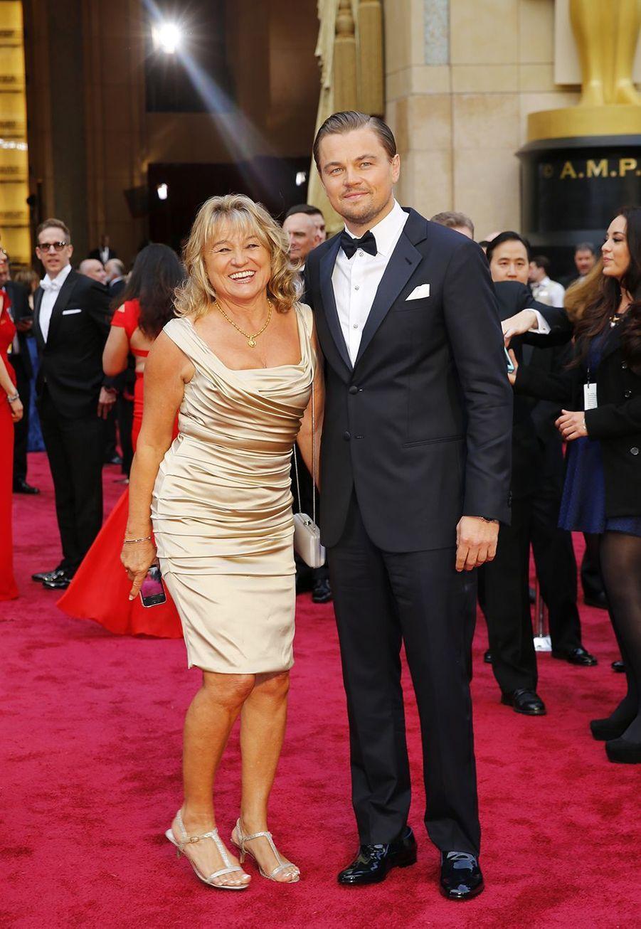 Leonardo DiCaprio et sa mère Irmelin
