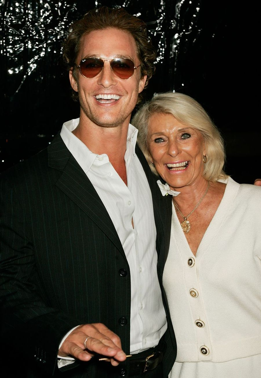 Matthew Mc Conaughey et sa mère Kay
