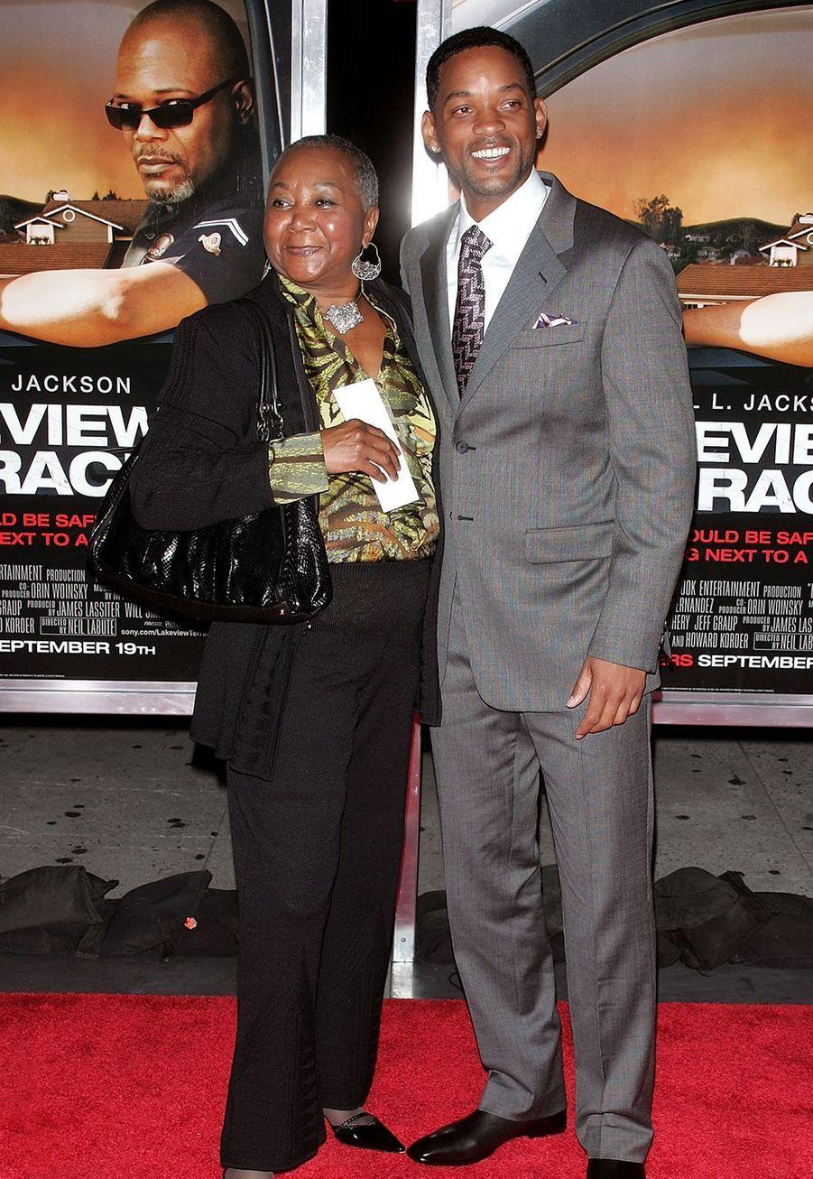 Will Smith et sa mère Carolyn