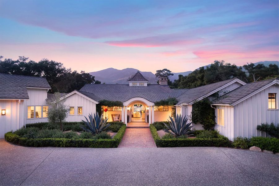 Meg Ryan a dépensé 5 millions de dollars pour acquérir cette propriété à Montecito (comté de Santa Barbara)