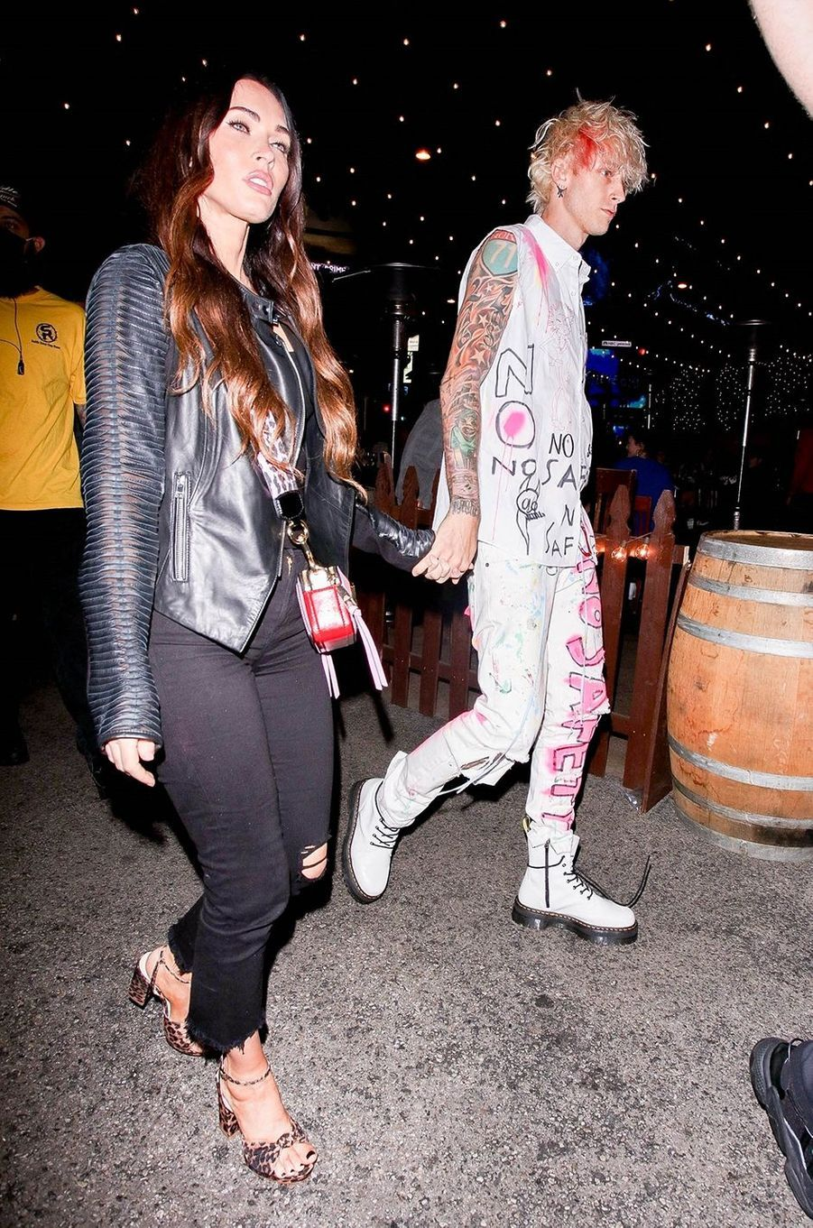 Megan Fox et Machine Gun Kellyà Los Angeles le 24 septembre 2020