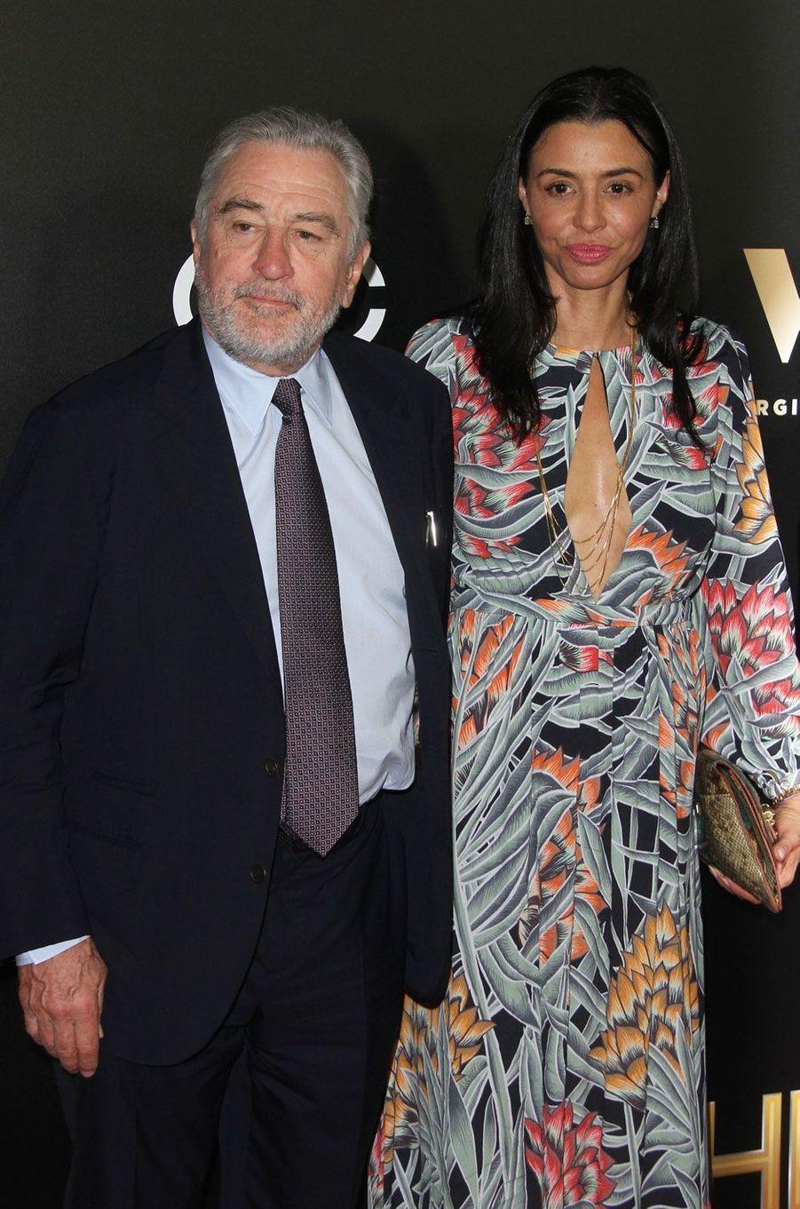Robert De Niro et sa femme Drena
