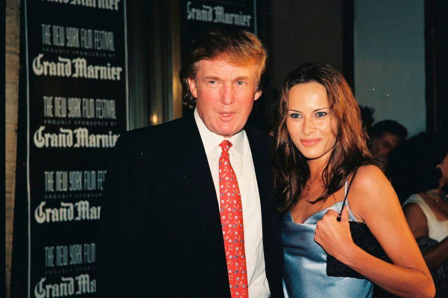 Donald et Melania Trump en 1998