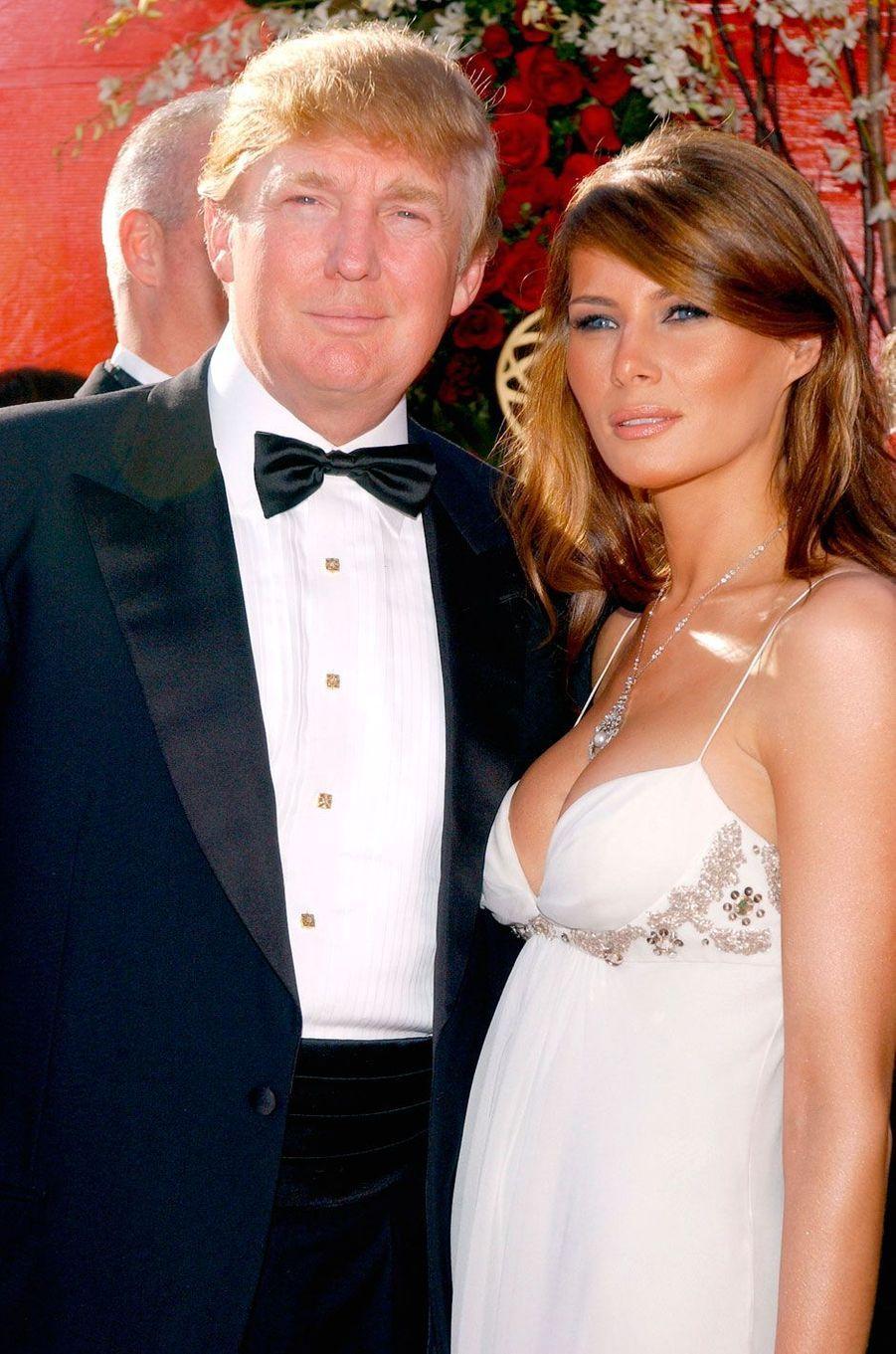 Melania et Donald Trump en 2004