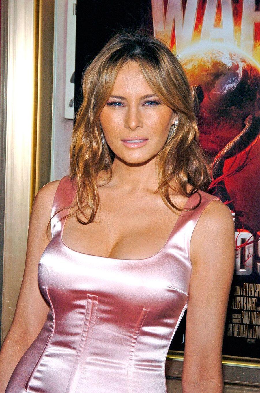 Melania Trump en 2005