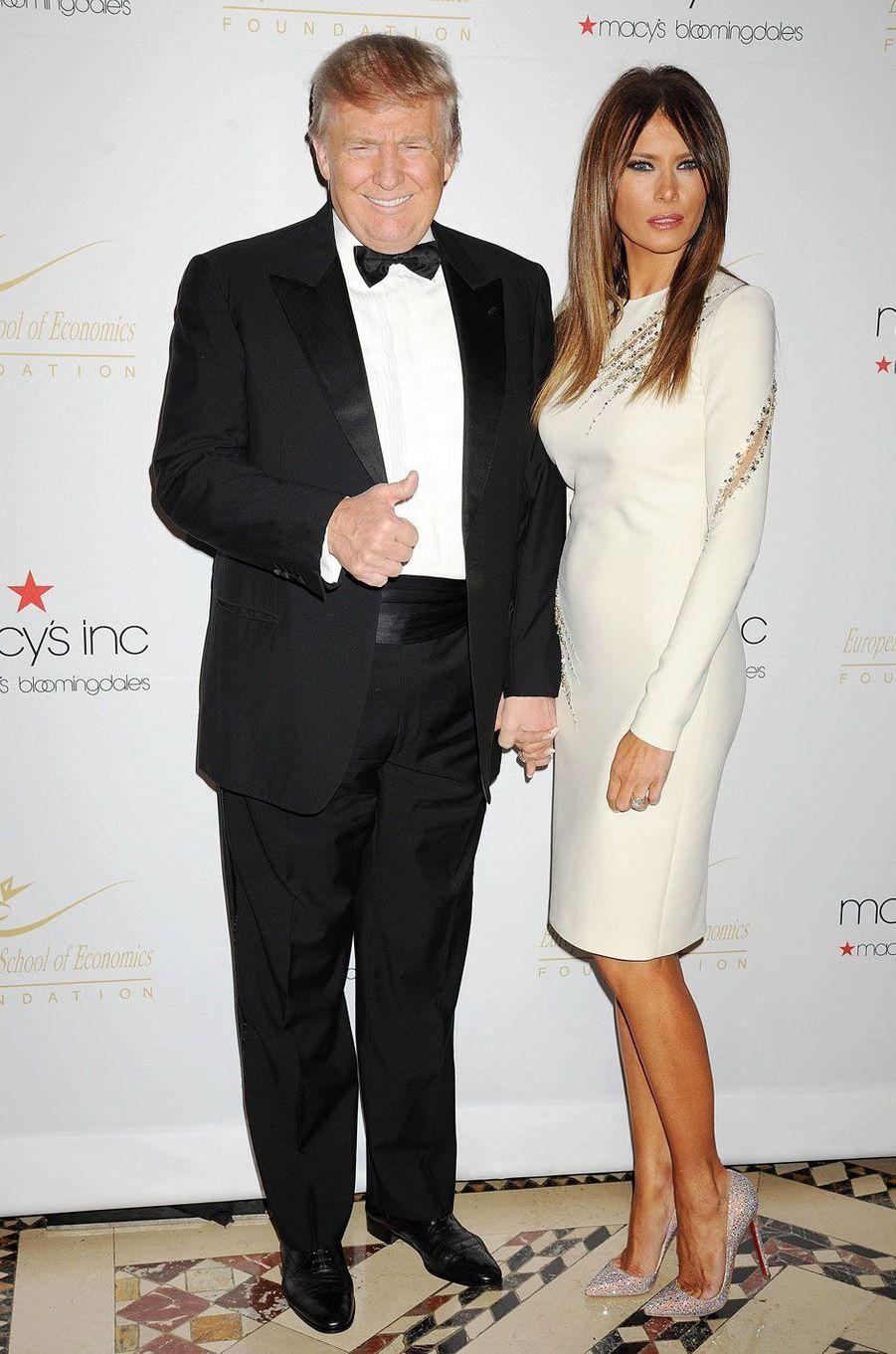 Donald et Melania Trump en 2012