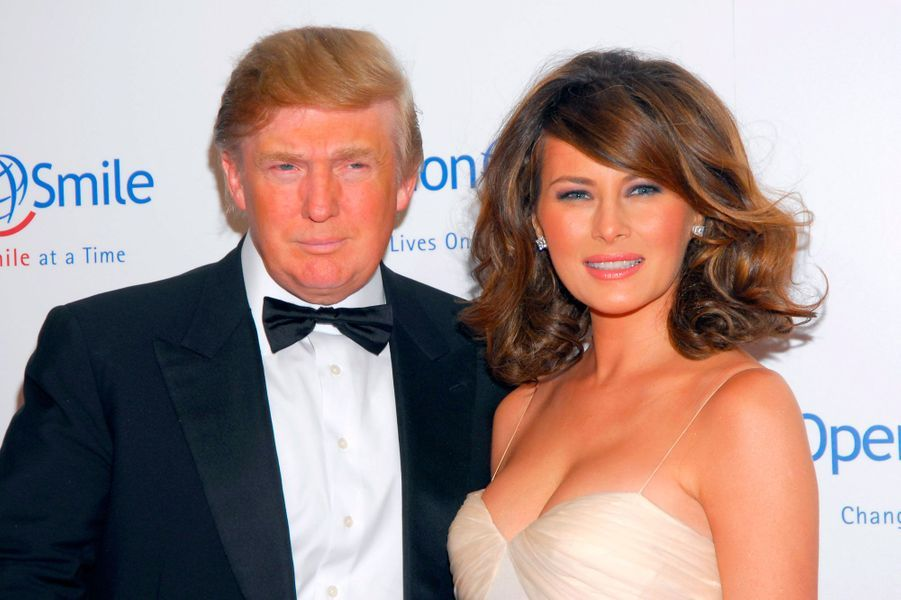 Donald et Melania Trump en 2006