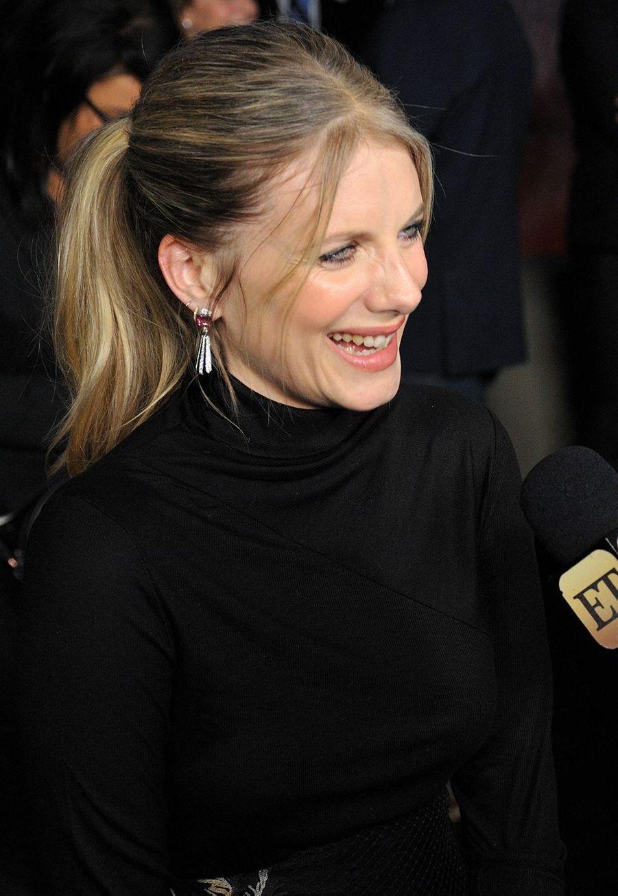 Mélanie Laurent à l'avant-première du film «Six Underground» à New York le 10 décembre 2019