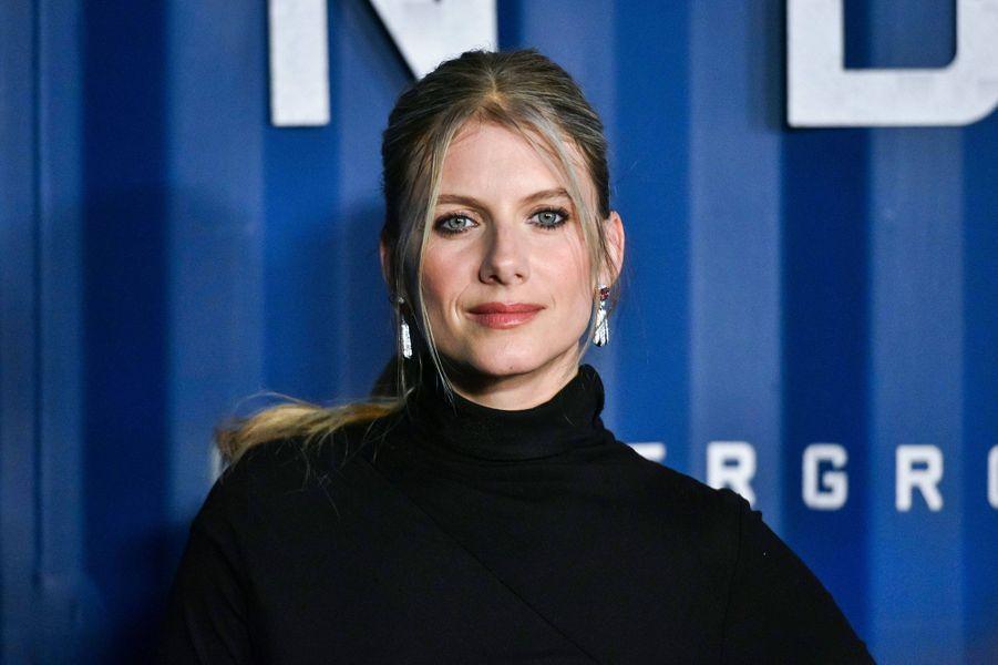 Mélanie Laurentà l'avant-première du film «Six Underground» à New York le 10 décembre 2019
