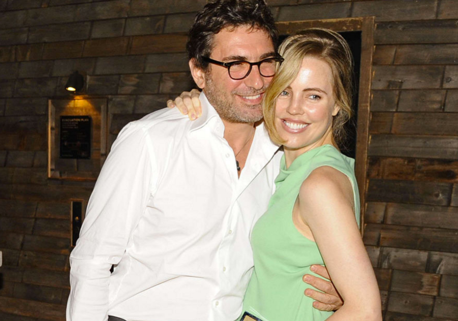 Melissa George et Jean-David Blanc à New York en 2013.