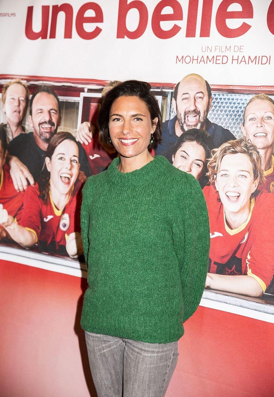 Alessandra Subletà l'avant-première du film «Une belle équipe» à Paris le 3 décembre 2019