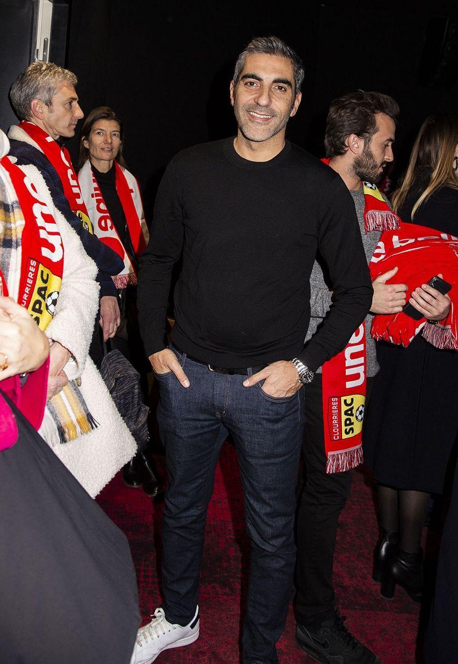 Ary Abittanà l'avant-première du film «Une belle équipe» à Paris le 3 décembre 2019