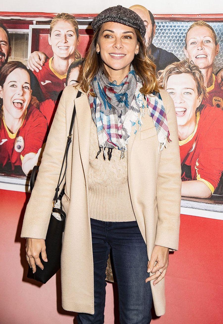 Mélissa Theuriauà l'avant-première du film «Une belle équipe» à Paris le 3 décembre 2019