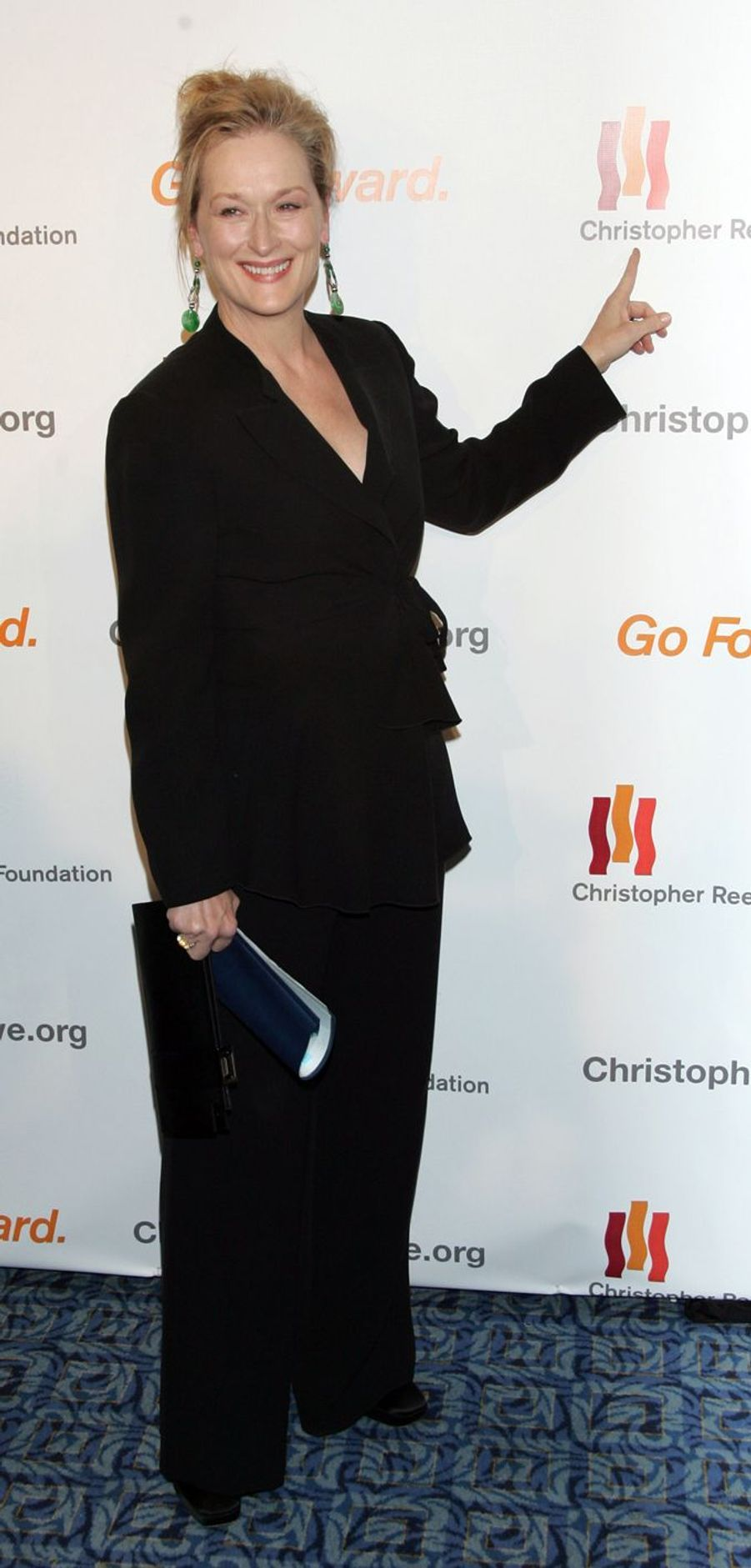 Meryl Streep à New York, le 17 novembre 2005
