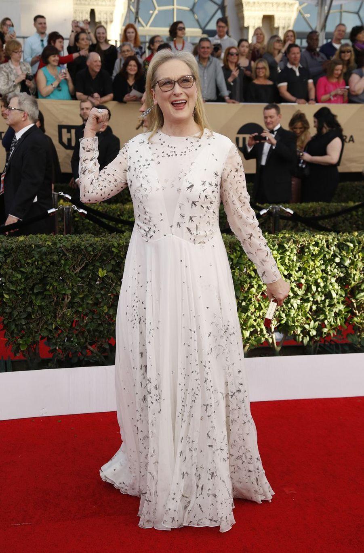 Meryl Streep à Los Angeles, le 29 janvier 2017