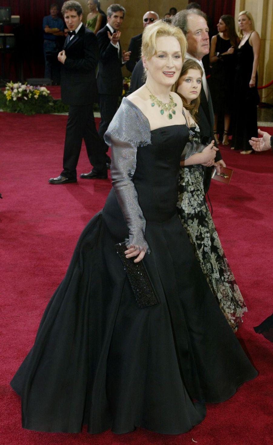 Meryl Streep à Hollywood, le 23 mars 2003