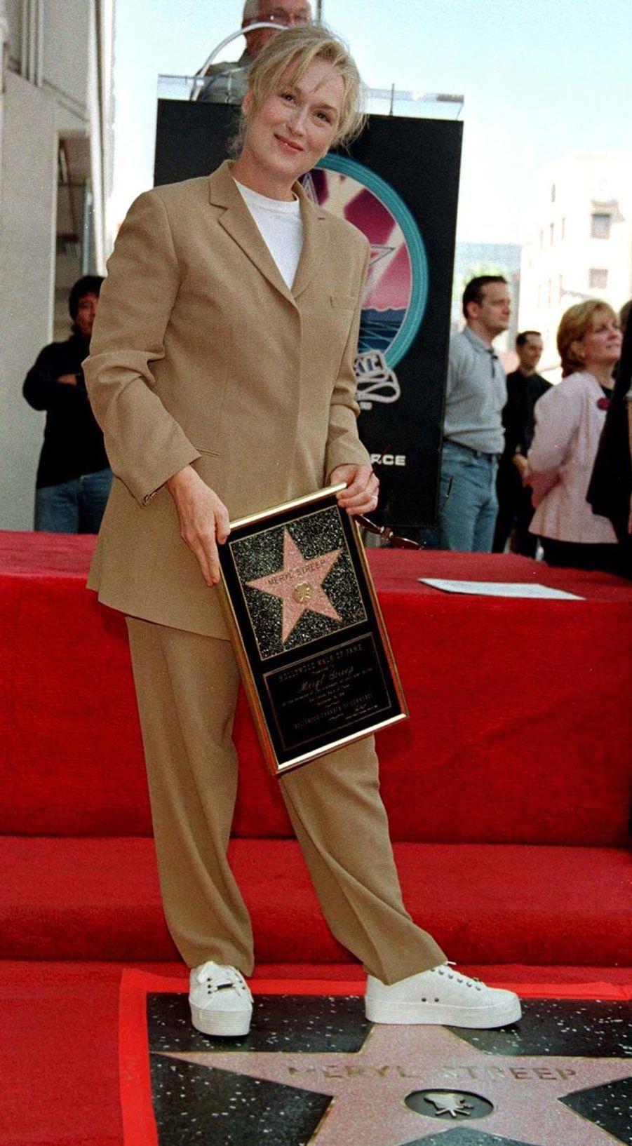 Meryl Streep à Hollywood, le 16 septembre 1998
