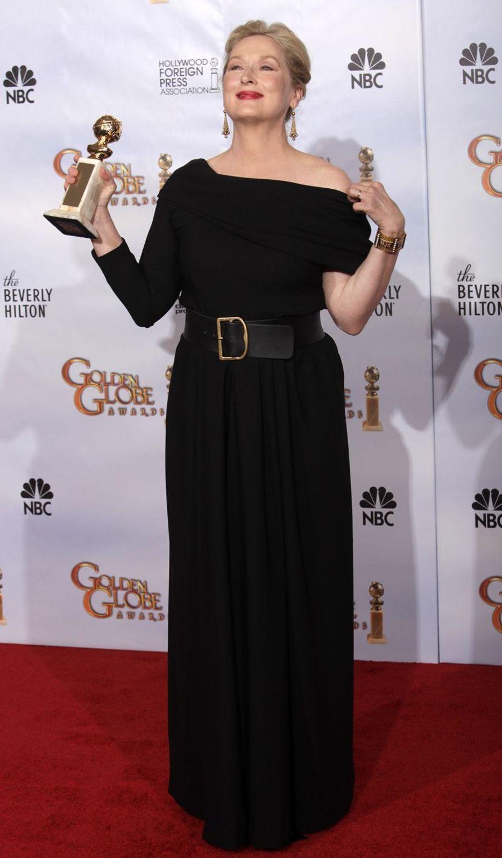 Meryl Streep à Beverly Hills, le 17 janvier 2010